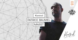 Patrice Baumel at Kontrol