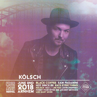 Kölsch @ Free Your Mind Festival