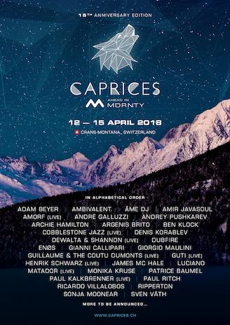 Patrice Bäumel @ Caprices Festival