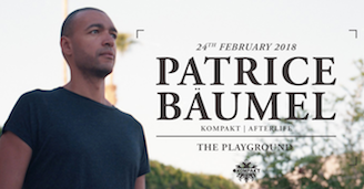 Patrice Baumel at The Playground