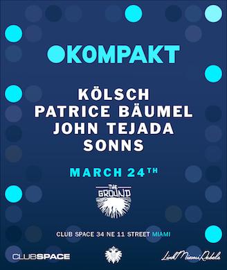 Kompakt Showcase Miami